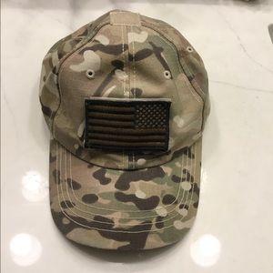 Other - 🔥AMERICA FLAG USA camo baseball cap hat